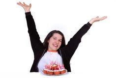 urodzinowy szczęśliwy ja obrazy stock