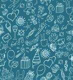 urodzinowy szczęśliwy wzór Zdjęcie Stock