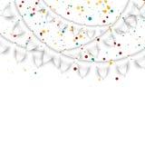 Urodzinowy tło Zdjęcia Stock