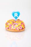 Urodzinowy tort Obraz Royalty Free