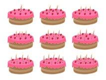 urodzinowy tort Zdjęcie Royalty Free