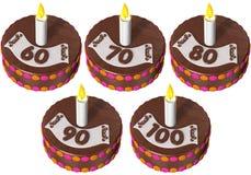 urodzinowy tort sto sześćdziesiąt Zdjęcie Stock