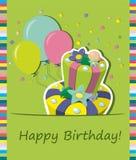 urodzinowy torta eps zawierać wektor Fotografia Royalty Free