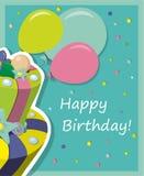 urodzinowy torta eps zawierać wektor Zdjęcie Stock
