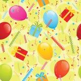 urodziny bezszwowy deseniowy Fotografia Stock