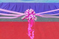 urodziny bow święta największych tasiemkowi wesela Obrazy Royalty Free