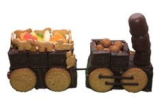 urodziny pociąg Fotografia Stock