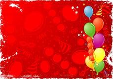 urodziny rama Fotografia Stock