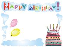 urodziny rama Zdjęcie Royalty Free