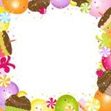 urodziny rama Obrazy Stock