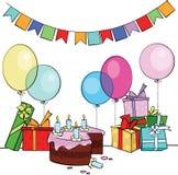 urodziny szczęśliwy ilustracji