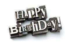 urodziny szczęśliwy Obraz Stock