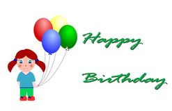 urodziny szczęśliwy Fotografia Stock