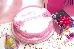 Urodziny Tort Obrazy Royalty Free