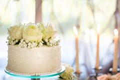 Urodziny tort Zdjęcia Stock