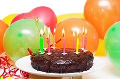 Urodziny tort fotografia stock
