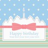 Urodziny tort Zdjęcie Stock
