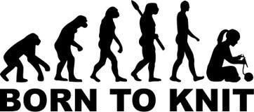 Urodzony dziać ewolucję ilustracja wektor