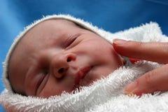 urodzony nowego dziecka Obrazy Stock