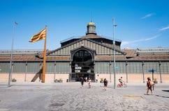 Urodzony rynek, Barcelona, Hiszpania obrazy royalty free