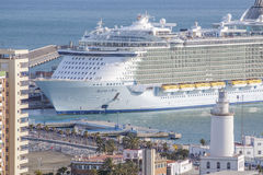 Urok morza w Malaga Fotografia Royalty Free