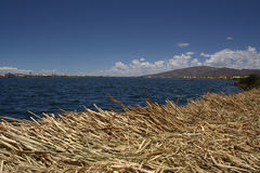 Uros Floating island Stock Images