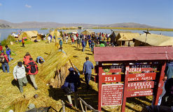 Uros Island Stock Photos