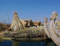Uros Island, Peru Royalty Free Stock Image
