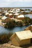 Uros islands Royalty Free Stock Image
