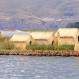 Uros islands. Stock Images