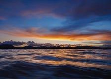 Uros Islands sur le Lac Titicaca au Pérou Photo libre de droits