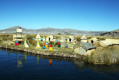 Uros life Royalty Free Stock Photography