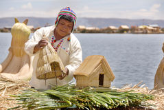 The Uros Royalty Free Stock Image