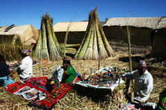 Uros stall Stock Image