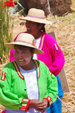 Uros woman Royalty Free Stock Photography