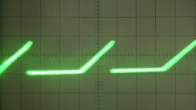 Urozmaicony sygnał na ekranie zdjęcie wideo