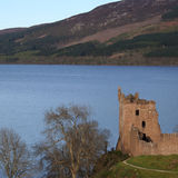 Urquart Castle Scotland Stock Photography