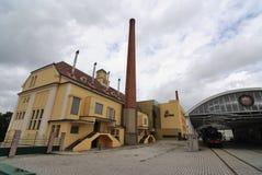 urquell pilsner фабрики стоковая фотография