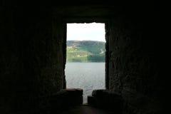 Urquhart城堡,奈斯湖,苏格兰 免版税库存照片