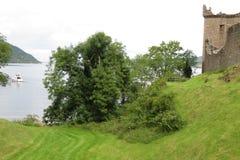 Urquhart城堡,苏格兰 库存图片