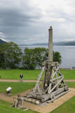 Urquhart城堡,苏格兰 图库摄影
