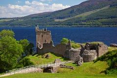 urquhart замока Стоковое Изображение