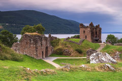 Urquhart城堡 免版税图库摄影