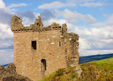 Urquhart Castle. On Loch Ness shore Royalty Free Stock Photography