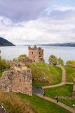 Urquhart Castle, Loch Ness, Scotland Stock Photos