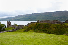 Urquhart Castle - Loch Ness - Scotland Royalty Free Stock Photos