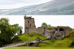Urquhart Castle - Loch Ness - Scotland Royalty Free Stock Image
