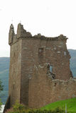 Urquhart Castle beside Loch Ness in Scotland Stock Photo