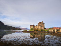 Eilean Donan castle in the Kintail district of Scotland Stock Images
