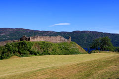 Urquhart Castle and Loch Ness, Scotland Stock Images